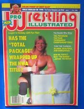 1990 PRO WRESTLING ILL Magazine Feb VGN Lex Luger Bret Hart Mr Perfect