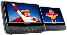 "Nextbase SDV49AC Twin Dual 9"" Portable DVD Players Car Kit Battery Multi Region"