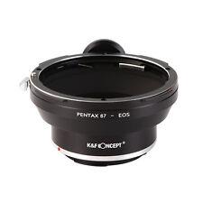 Adapter for Pentax 67 Lens to Canon EOS EF Cameras 550D 5D II 60D 7D 650D 700D