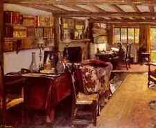 Lavery Sir John A Writing Room At The Wharf A4 Print