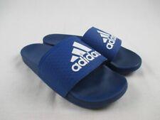 adidas Adilette Cloudfoam - Blue/White Sandals & Flip Flops (Men's 8) - Used