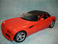 1/18 1999 DODGE COPPERHEAD CONCEPT  IN ORANGEBLACK TOP BY ANSON NO BOX.