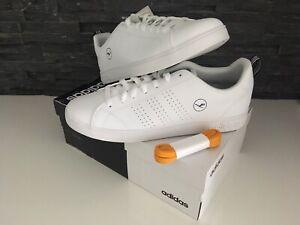 Adidas Lufthansa Gr.44 neue Sneaker Advantage, weiß, Doubleboxed Nike Schuhei