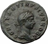 Constantine II Constantine I the Great  son Ancient  Roman Coin Wreath  i22569