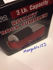 3 LB ROTARY ROCK TUMBLER SMOOTH POLISHER JEWELRY