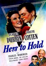 Hers To Hold (DVD)  Deanna Durbin Joseph Cotten