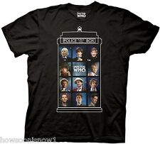 Dr Who 11 Doctors 50 Years T-Shirt Licensed Ripple Junction DWAS2397 NEW X-Large