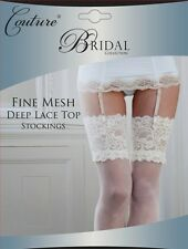 Fine Mesh Bridal Stockings