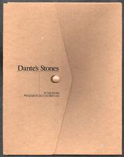 Jean-Louis BLOCH-LAINé. Dante's Stones. Brentwood, The Studio, 1998. E.O.