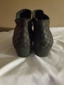 Faded Glory Womens Leather Size 7.5 Boot