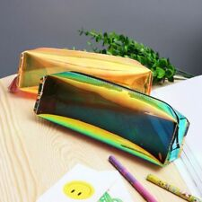 Laser Purse Pencil Case Cosmetics Makeup Bag Metallic Color Holographic Hologram