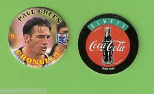 #MM.  SIXTY 1994 COCA COLA RUGBY LEAGUE TAZOS, ALL PAUL GREEN, CRONULLA