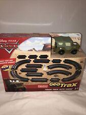 GeoTrax  Sarge Cars Disney Pixar Fisher Price 18 pieces NIB