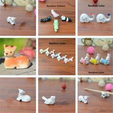 Animal Ceramic Chopsticks Spoon Fork Holder Kitchen Chopstick Rest Stand Cute