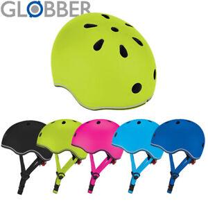 Globber Go Up Lights Kids Helmet - Blue, Pink, Green, Black