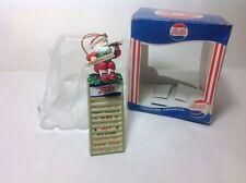 MATRIX PEPSI-COLA SANTA CLAUS Collectible Christmas ORNAMENT MIB
