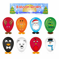 Christmas Party Loot Bag / Pinata / Stocking Fillers - 8 x Balloon Heads