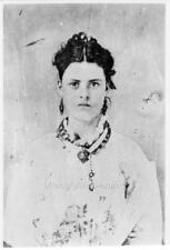 "Photo ca 1874 Kansas ""Prostitute"""