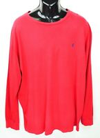 Polo Ralph Lauren Men's Size XXL Red long Sleeve Crew neck T Shirt