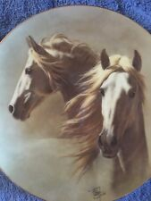 Beautiful Horses Collector Plate Andalusion w/COA