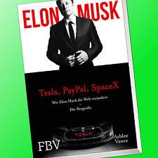 ELON MUSK   Die Biografie des Gründers von Tesla, PayPal, SpaceX   Wie er(Buch)