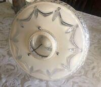 Porcelier 17 INCH Art Deco Ceiling Light Fixture Chandelier