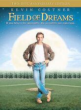 Field of Dreams 2 DVD Set Anniversary edition Kevin Costner Full Screen