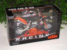 Automaxx 1/12 Diecast Motorcycle Motocross KTM 450 SM-R 2009 Supermoto Black