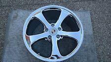 TechArt Porsche Cayenne OEM Factory Original Chrome wheel & Chrome Center Caps