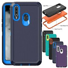 For Samsung Galaxy A20S/A20 Case Heavy Duty Shockproof Armor Protective Cover