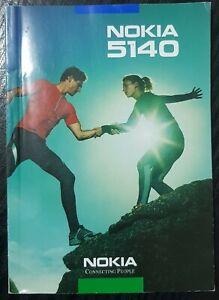 user manual instruction book nokia 5140 original