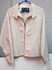 Jack Nicklaus Glen Eagles Windbreaker Jacket  color Light Yellow / Cream Size 44