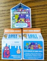 3 new boxes of Series 2 Lost Kitties Blind Box WHO'Z HIDIN INSIDE