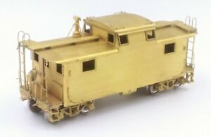 Overland Models OMI Brass HO Scale Boston & Maine B&M N-5 Steel Caboose #C-16