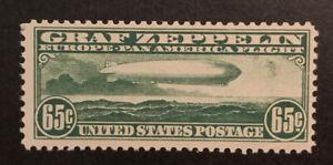 TDStamps: US Airmail Stamps Scott#C13 Mint NH OG Lightly Crease