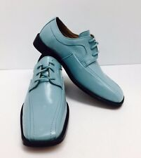 Roberto Chillini Boys Dress Shoes Topaz Looks Like Aqua Sizes 4.5 - 6.5