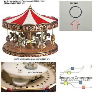 Mr. Christmas World's Fair Carousel model 79851 or Similar  - PART - BELT KIT