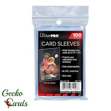 More details for ultra pro card sleeves penny sleeves 100-1000 standard size soft clear new packs