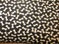 Dog Bones Square Flax Seed Aromathapy Herb Pillow Heating Pad Ice Pack Black