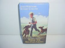 Where The Red Fern Grows VHS Video Tape Movie