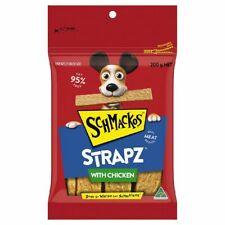 Schmackos Strapz Dog Tasty Treats W/ Chicken 8 X 200g