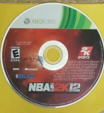 XBox 360 EA Sports NBA 2K12 Disc Only - Cleaned - Tested - Guaranteed