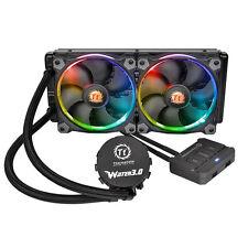 Thermaltake Water 3.0 Riing RGB 240 240mm Quiet Liquid CPU Cooler Heatsink Fan