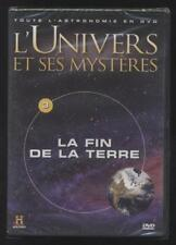 NEUF DVD LA FIN DE LA TERRE   L UNIVERS ET SES MYSTÈRES N°3   ASTRONOMIE ESPACE