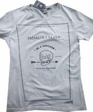 Japan Rags Gr:XL Herren T-Shirt vintage kit Frontprint Survivor