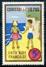 Timbres avec 5 timbres de l'Europe