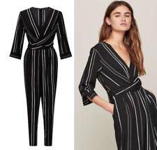 Miss Selfridge Black Striped Tapered Leg Jumpsuit – Blogger FAV – Size 6 to 16