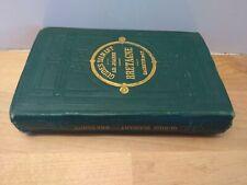 Guide Joanne Guide Diamant Bretagne Hachette 1875 avec 5 plans