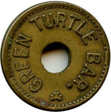 Green Turtle Bar Saint Joseph, Missouri MO 5¢ Trade Token