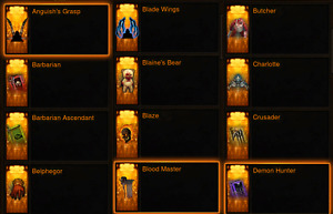 Diablo 3 ROS XBOX ONE Cosmetics Bundle  Pets, Wings, Banners.